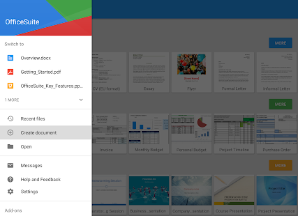 Free Download OfficeSuite Pro + PDF (Trial) APK for Samsung