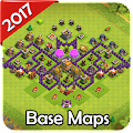 Free New Base Maps for COC 2017 APK for Windows 8