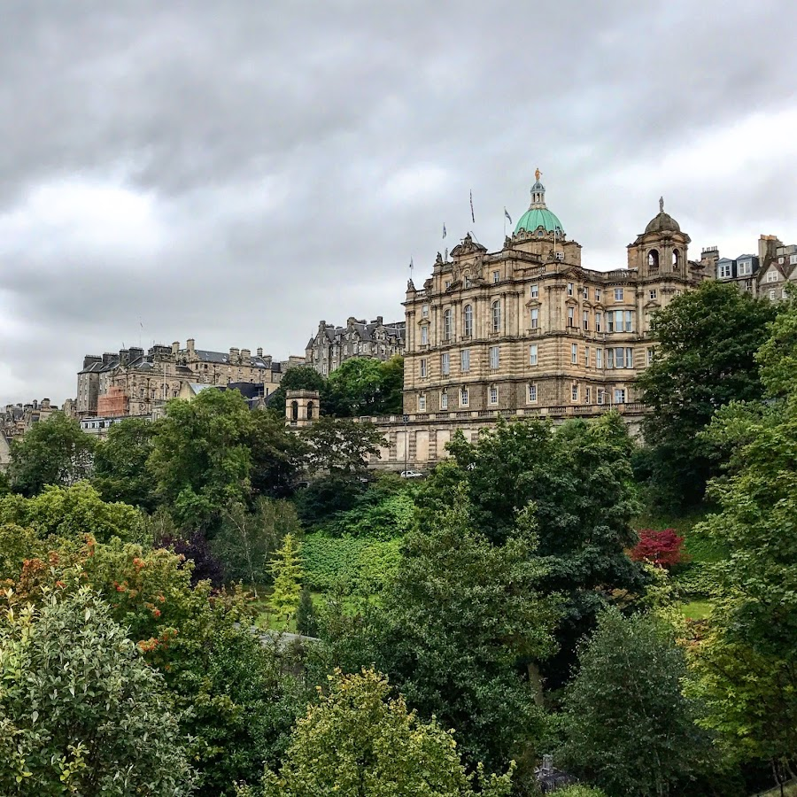 Edinburgh  by Roxana McRoberts - Instagram & Mobile iPhone ( castles )