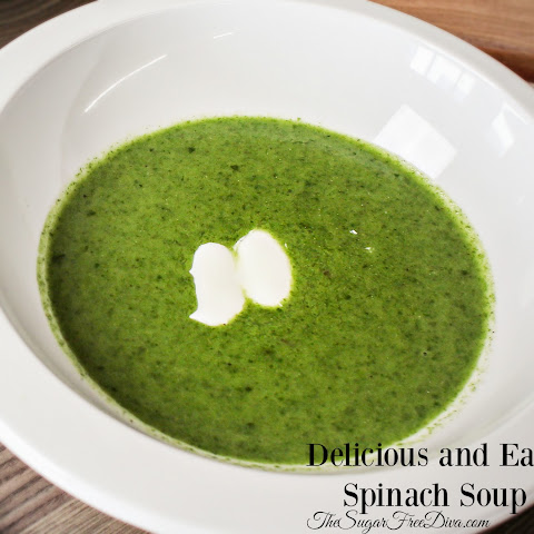 Delicious and Easy Spinach Soup