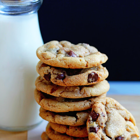 Perfect Soft and Chewy Chocolate Chip Cookies