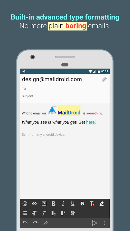 MailDroid Pro - Email Application Screenshot 4