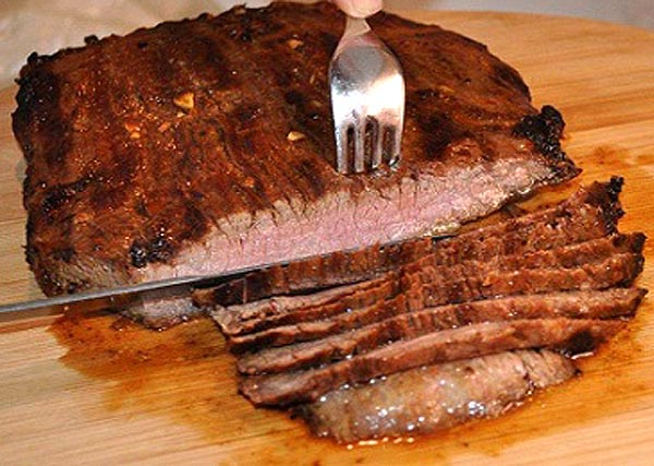 Grilled Flank Steak (London Broil) Recipe | Yummly