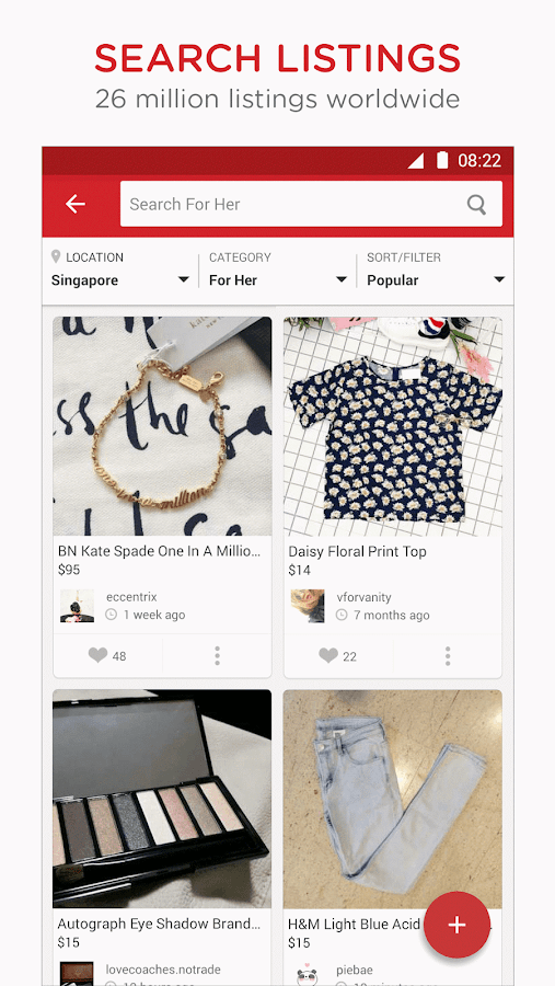 Carousell: Snap-Sell, Chat-Buy Screenshot 4