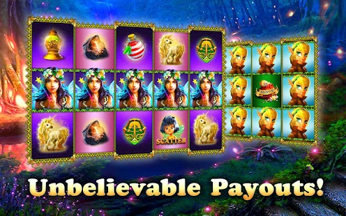 Mysterious Forest Slots Casino apk screenshot