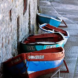 by Ria van der Lith - Transportation Boats