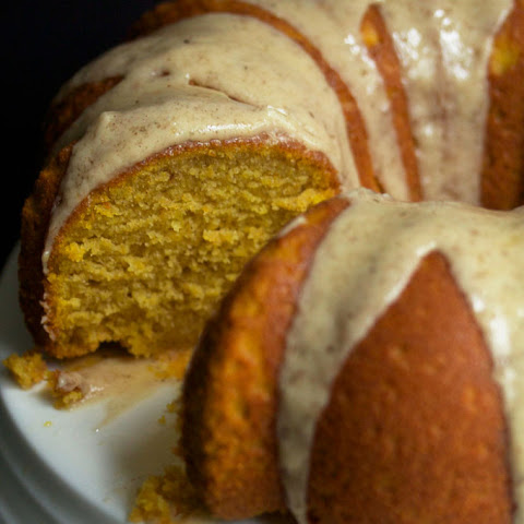 Pumpkin Pound Cake with Brown Butter Glaze