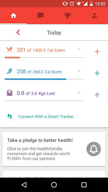 HealthifyMe Weight Loss Coach screenshots