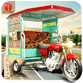 Free Download Real Auto Rickshaw Drive- Simulator Game APK for Samsung