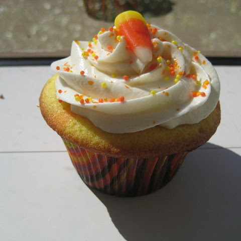 How To Make Delicious Candy Corn Cupcakes