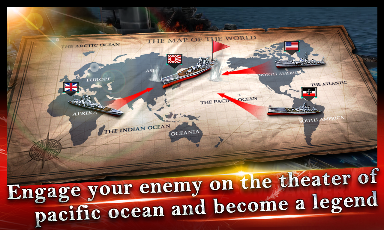 Fleet Commander:Pacific Screenshot 5