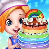 Game Rainbow Desserts Cooking Shop && Bakery Party APK for Windows Phone