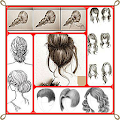 Learn to draw Hair APK for Bluestacks