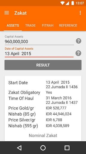 Zakat Calculator screenshot 2