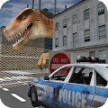 Dino in City-Dinosaur N Police for Lollipop - Android 5.0