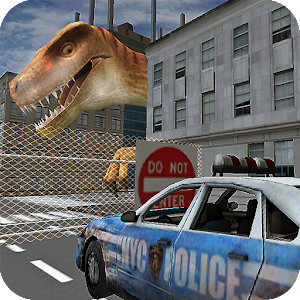 Dino in City-Dinosaur N Police For PC (Windows / Mac)