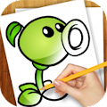 Game Learn to Draw Zombies Vs Plant APK for Windows Phone