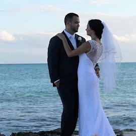 Love  by Anna Tripodi - Wedding Bride & Groom ( love, beautiful, valentines day, best couple, warm embrace,  )