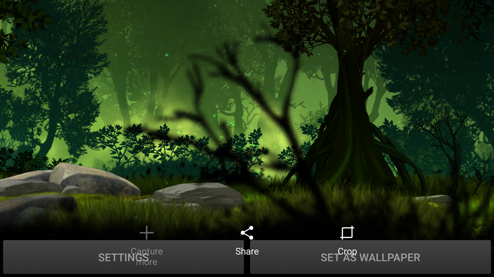 Firefly Forest Live Wallpaper Screenshot 12
