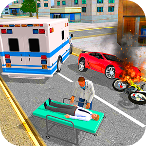 Ambulance Driver Extreme Rescue For PC (Windows & MAC)