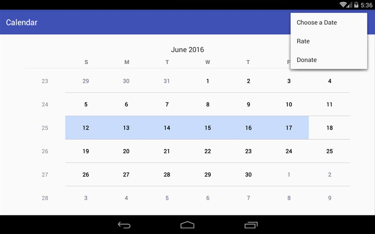 Simple Calendar Pro Screenshot 5
