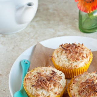 Double Coconut Crunch Muffins
