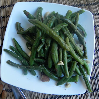 Sautéed Green Beans with Almonds