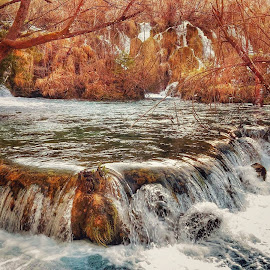 plitvice lakes by Tanja Galac - Landscapes Waterscapes