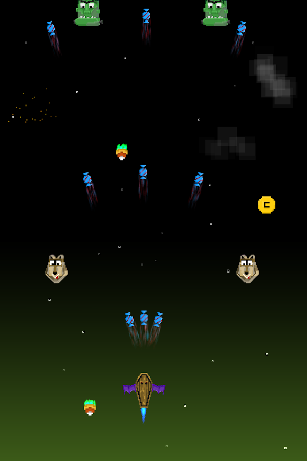 Astro Attack Screenshot 2