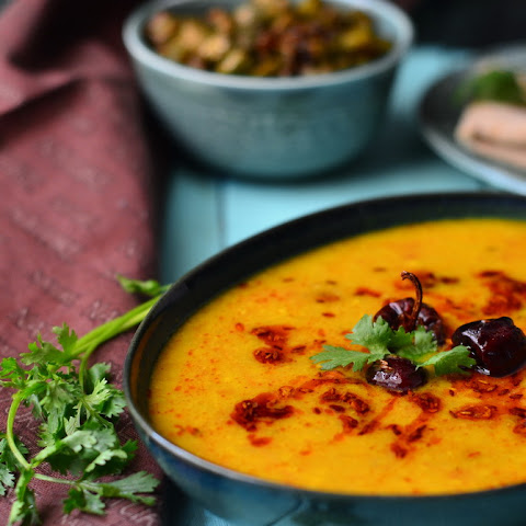 Raw Mango-Cabbage Dal
