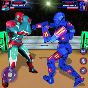 Robot Ring Fighting-Superhero Robot VS Real Robot For PC / Windows 7/8/10 / Mac – Free Download