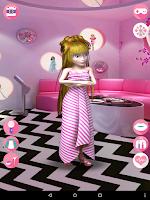 Screenshot of My Talking Pretty Girl