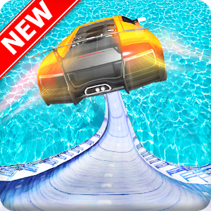 Download Mega Ramp Car Stunts on Impossible Mega Tracks For PC Windows and Mac