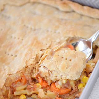 Cheesy Ham Pot Pie