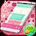 GO SMS Paris Love APK for Bluestacks