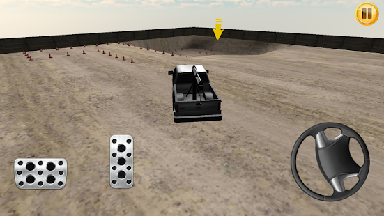 Park The Loader Crane 3D - screenshot