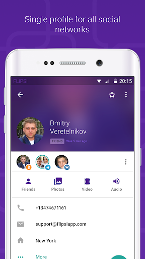 FLiPSi messenger + Yahoo - screenshot