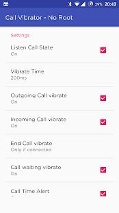 Call Vibrator(Pro) - No Root- screenshot thumbnail