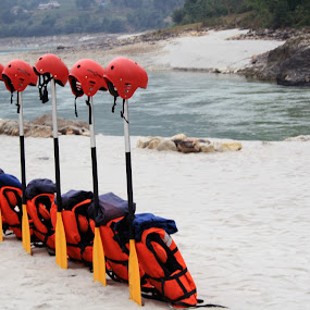 Ready to go by Samrat Sam - Landscapes Waterscapes ( water, kathmandu, rafting, river, nepal )