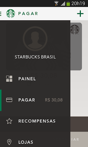 Starbucks Brasil screenshot 1