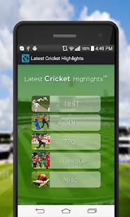 Cricket Highlights HD - screenshot
