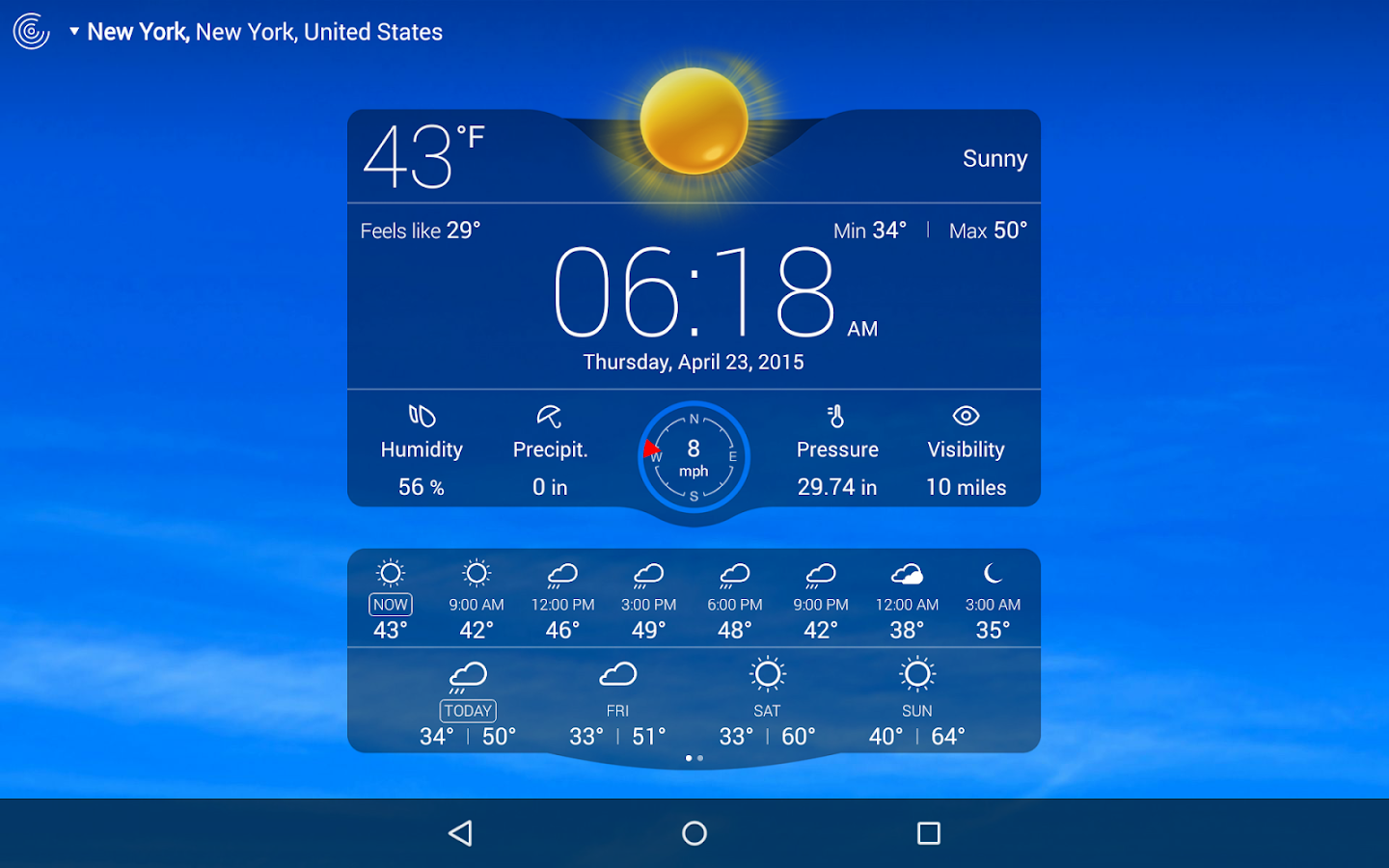 Weather Live Screenshot 13
