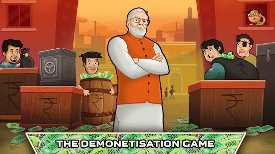 Modi Games: Attack Black Money APK for Bluestacks