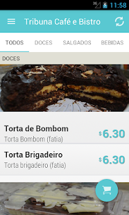 Tribuna Café e Bistro - screenshot