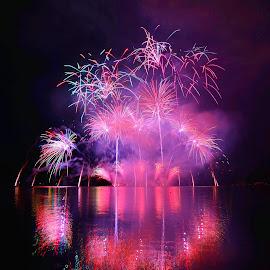 BAREVNÁ SYMFONIE  by Petr Olša - Abstract Fire & Fireworks