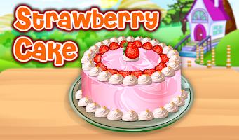 Screenshot of Strawberry Cake Cooking
