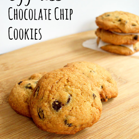 Egg-less Chocolate Chip Cookies
