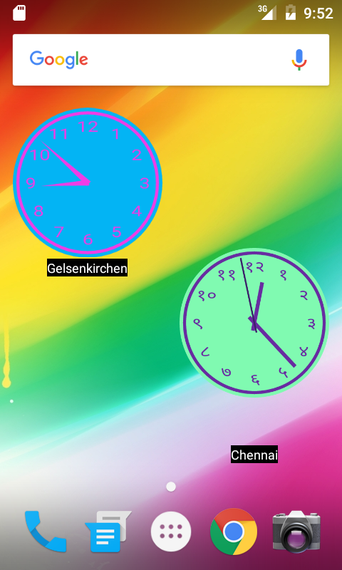 Planet Sunshine World Clock + Screenshot 2