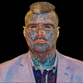 Extreme by Steve Dormer - People Body Art/Tattoos