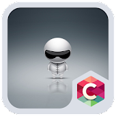 Download Cute Robot Launcher Theme APK on PC